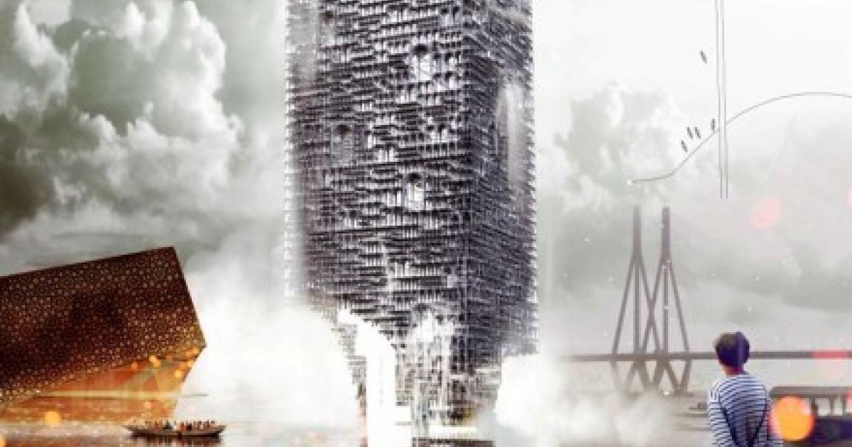 Poznań Students Win Design for New Bollywood Tower in Mumbai