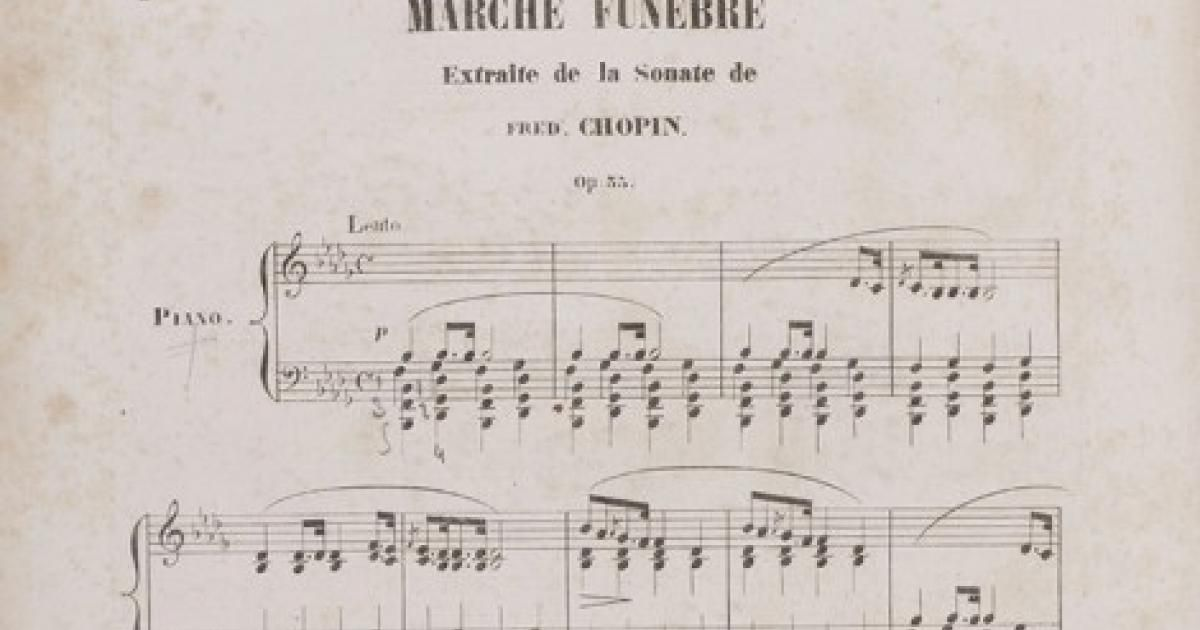 Breaking It Down: Chopin's Funeral March | Article | Culture pl