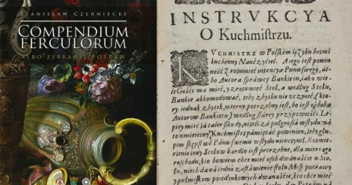 Zabytki Polskiej Literatury Kulinarnej Artykuł Culturepl
