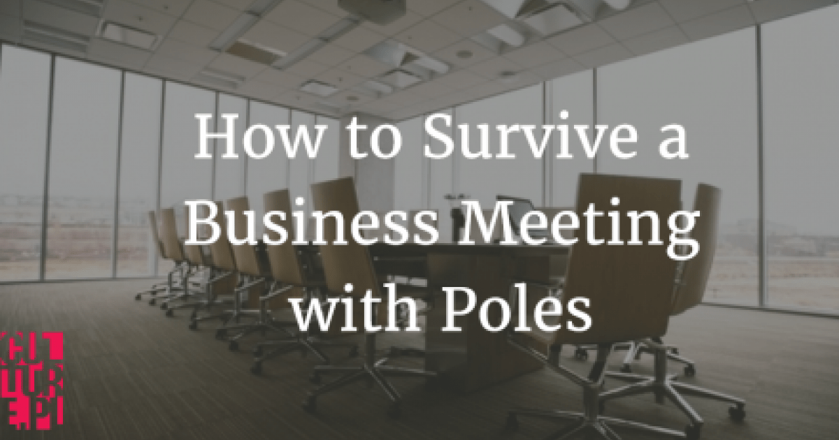 How to Survive a Business Meeting with Poles | Article | Culture pl