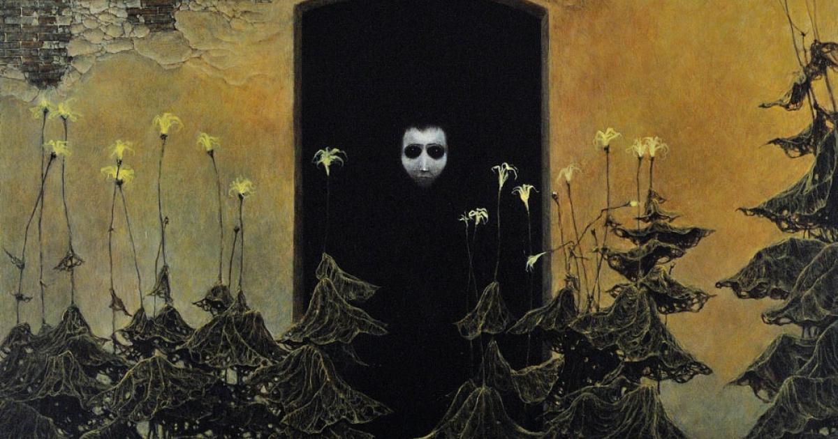 the cursed paintings of zdzis u0142aw beksi u0144ski
