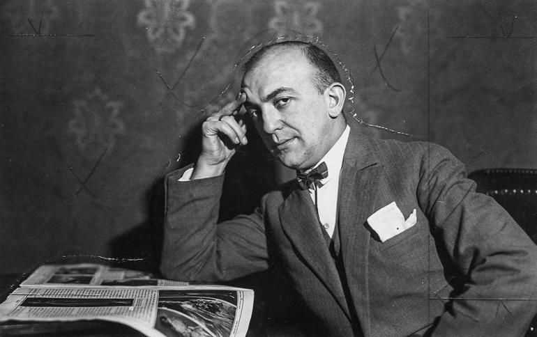 Ежи Петерсбурский, 1926, фото: Narodowe Archiwum Cyfrowe, audiovis.nac.gov.pl