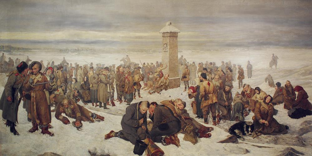 «Прощание с Европой», Александр Сохачевский, фото: Музей независимости в Варшаве