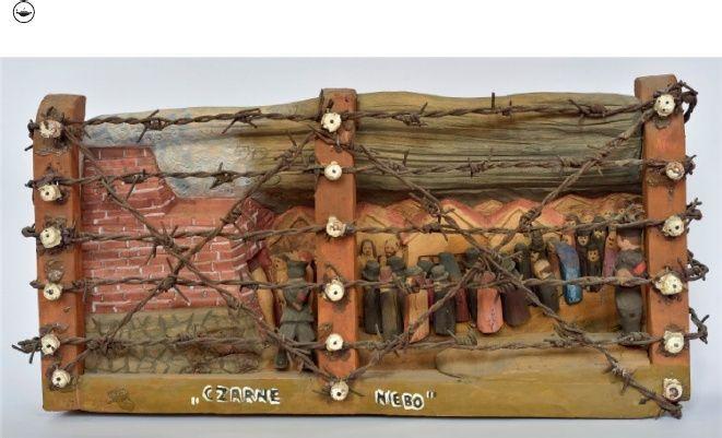 Ярослав Фурґала. Чорне небо, 1986. Державний Музей у Майданку. Фото: Войцєх Вільчик