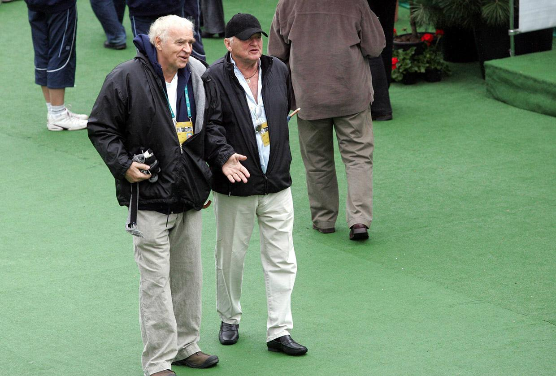 Януш Гловацкий и Ежи Груза на соревнованиях по теннису, 2007, фото: Куба Атыс / AG