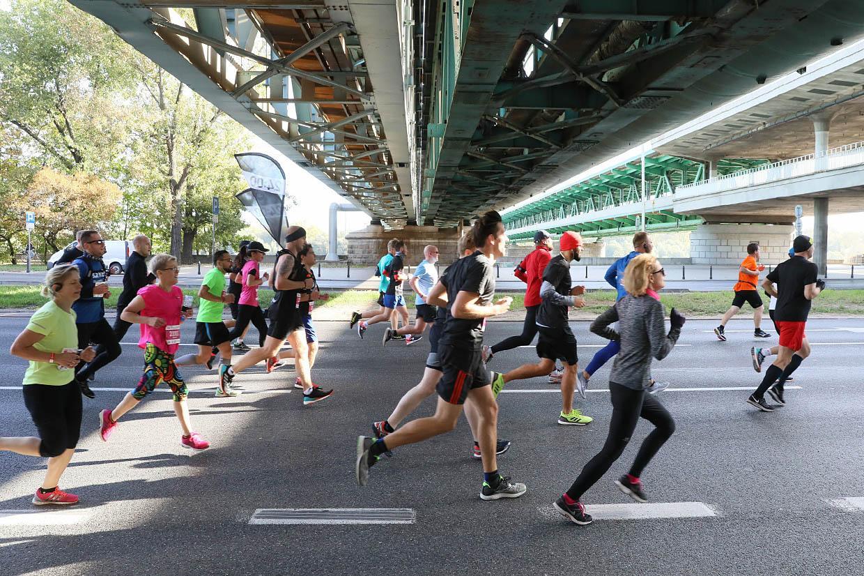 Варшавский марафон. Фото: Петр Молецкий / East News