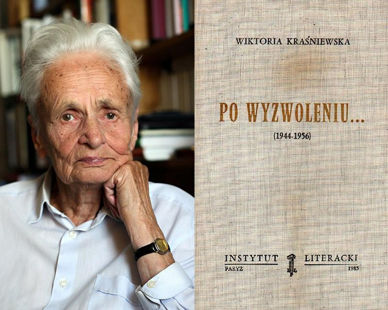 Barbara Skarga, photo: Krzysztof Żuczkowski / Forum // The cover of the first edition of Skarga's book, photo: press materials