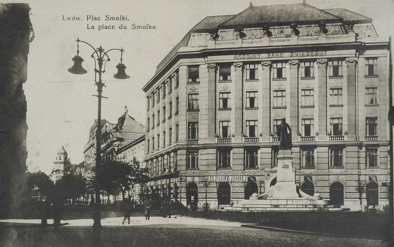 Lwów, plac Smolki, 1927, fot. Polona.pl