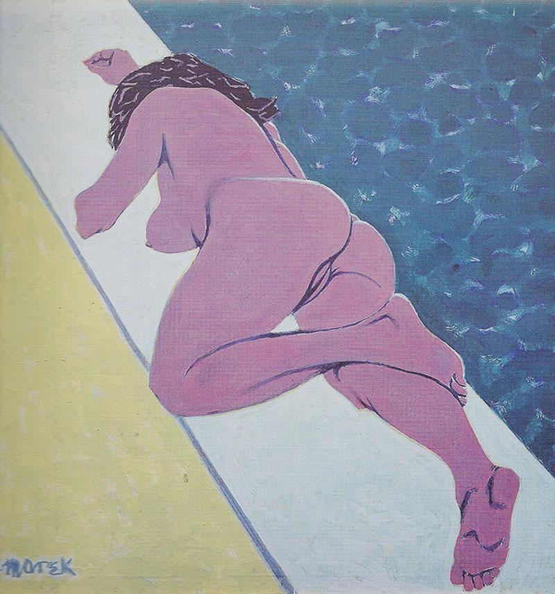 """Marek Żuławski, """"Basen / Swimming Pool"""", 1982, fot. Muzeum Tatrzańskie"""
