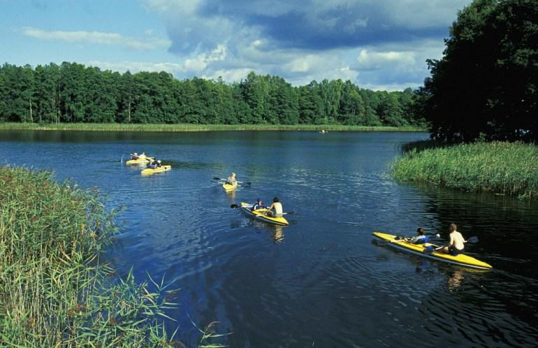Байдарки на озере Мокром: Петр Плачковский / Reporter