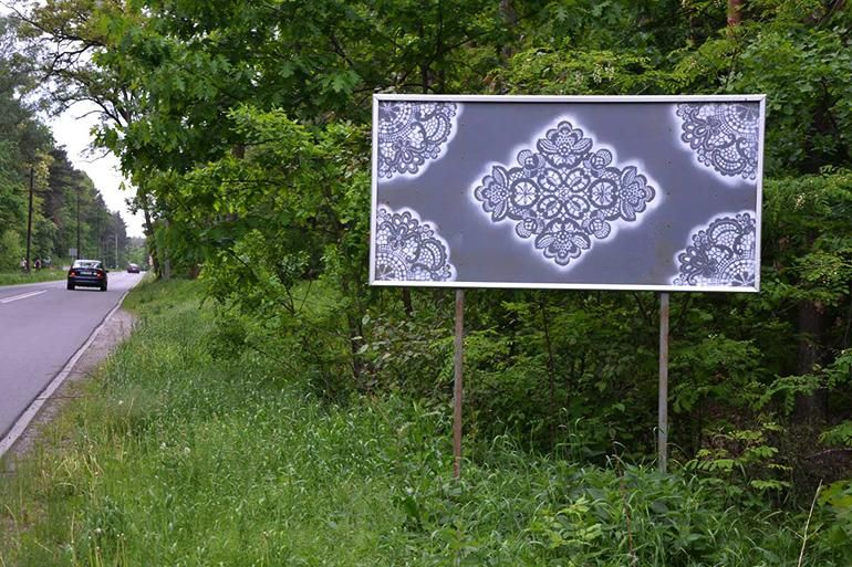 aa3b5778611c Mural by NeSpoon in Warsaw, Poland, photo: promotional materials of the  artist