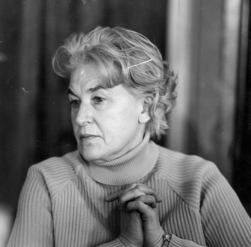 Анна Свирщиньская, 1972, фото: Витольд Розмыслович / PAP
