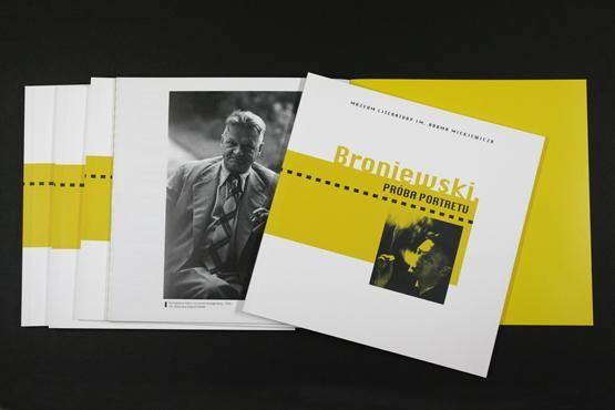 Broniewski Próba Portretu Katalog Wystawy Literatura