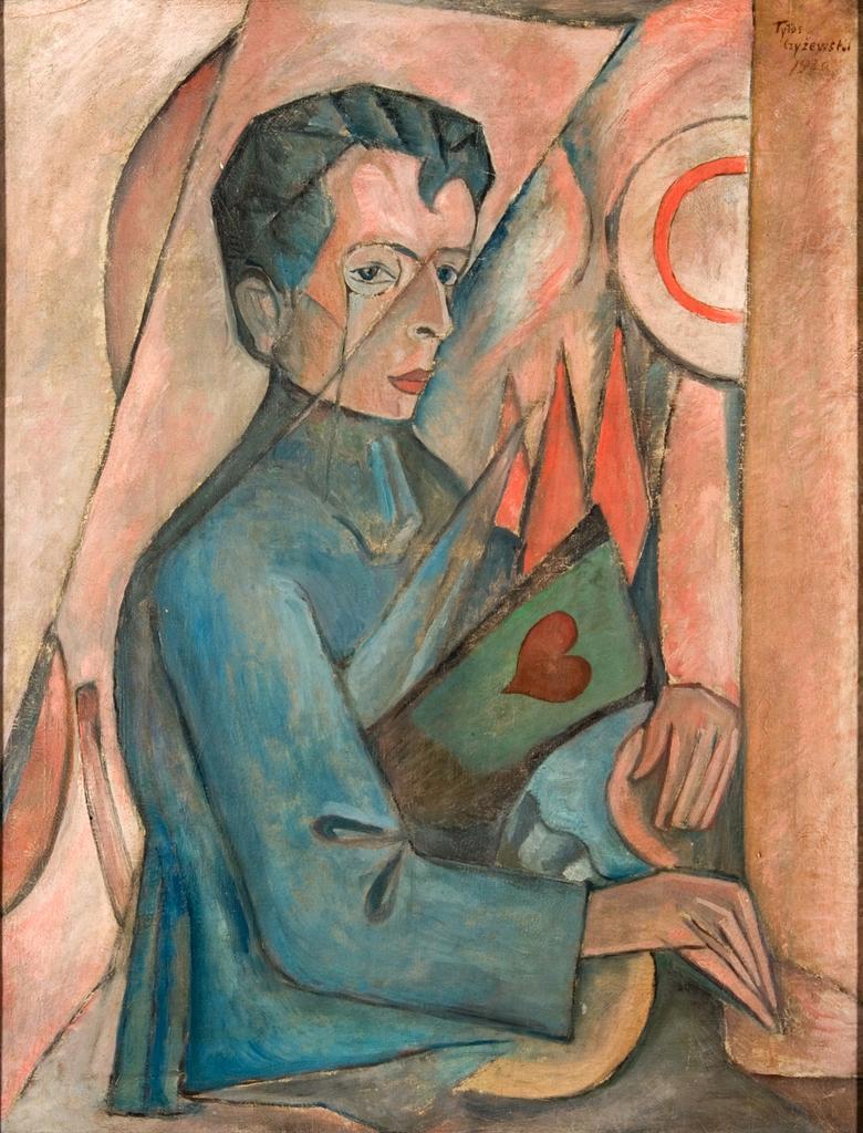 Титус Чижевский. Портрет Бруно Ясенского, 1920 год; масло, холст. Фотография предоставлена Лодзинским музеем искусства