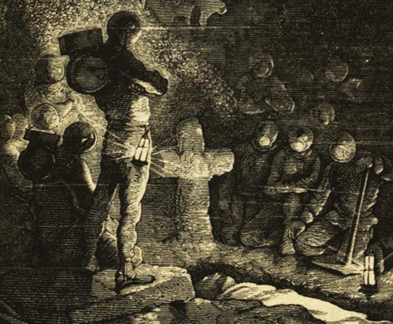 Иллюстрация к роману Жюля Верна «20 тысяч лье под водой».