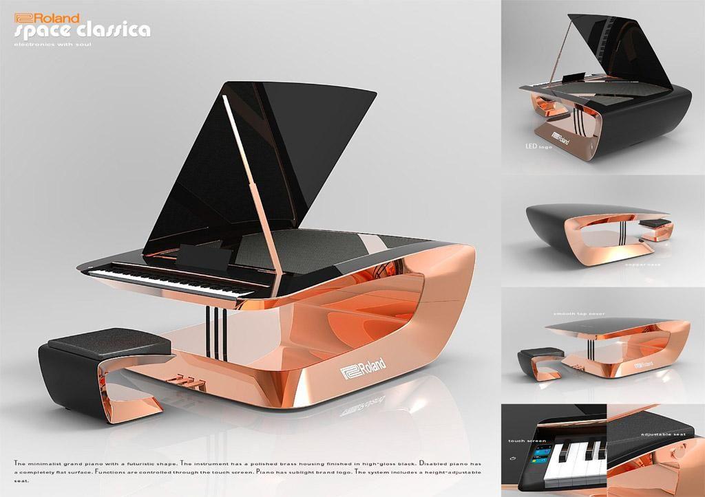 Futuristic Polish Piano Wins Roland Design Award