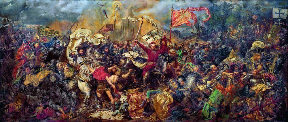 "Jan Matejko, ""Bitwa pod Grunwaldem"""