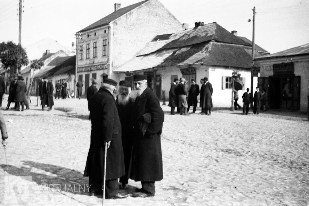 Kupcy żydowscy w Słomnikach (1918-1933), źródło: Narodowe Archiwum Cyfrowe