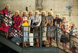 Opening of the Polish Culture Festival in Beijing in 2013. Two Dragons fashion show by Polish designer Katarzyna Skórzyńska. Photo: Malina Kosakowska