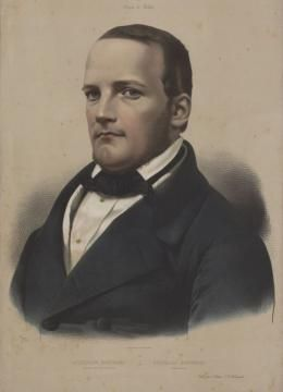 Stanisław Moniuszko, grafika Adolphe'a Lafosse'a, źródło: Cyfrowa Biblioteka Narodowa polona.pl