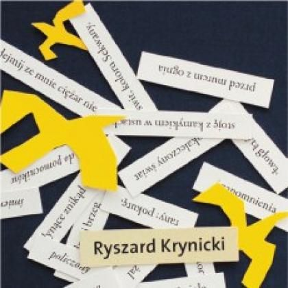 Ryszard Krynicki Kamień Szron Literatura Culturepl