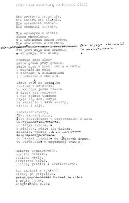 Wisława Szymborska Wystarczy Literatura Culturepl