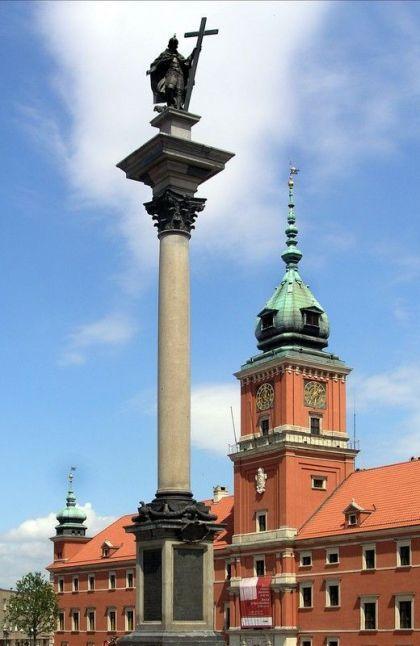 Kolumna Zygmunta III Wazy w Warszawie   #sztuki wizualne   Culture.pl