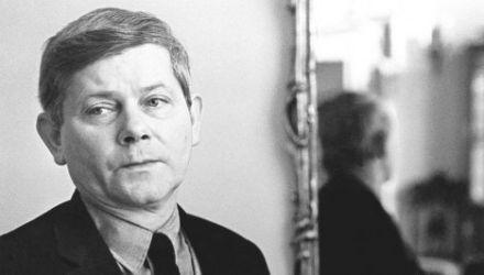Zbigniew Herbert, Creative Work House of Polish Writers' Union,1972, photo: Erazm Ciołek/Forum