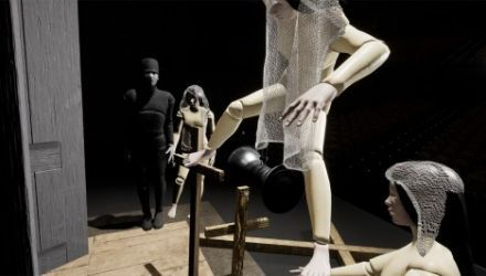 A screenshot of the VR piece being prepared by Tale of Tales, photo: promo materials