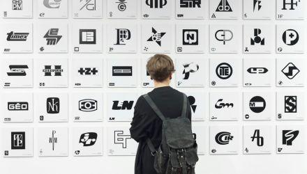 Druga Ogólnopolska Wystawa Znaków Graficznych, Centrum Designu Gdynia, 04.09.2015–23.10.2015, fot. Aleksander Drożdżewski