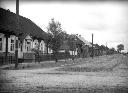Fragment wsi, Polesie, 1936, fot. szukajwarchiwach.gov.pl