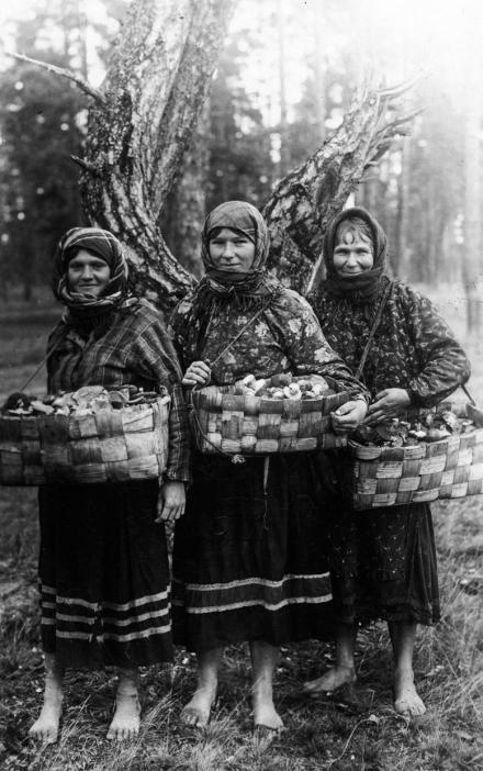 Kobiety poleskie, 1935, fot. szukajwarchiwach.gov.pl