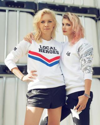 5d5fb4486e8f Clothing collection by Local Heroes