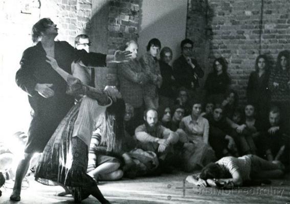 Archival Photo From The Performance Apocalypsis Cum Figuris By Jerzy Grotowski Piotr Barcz