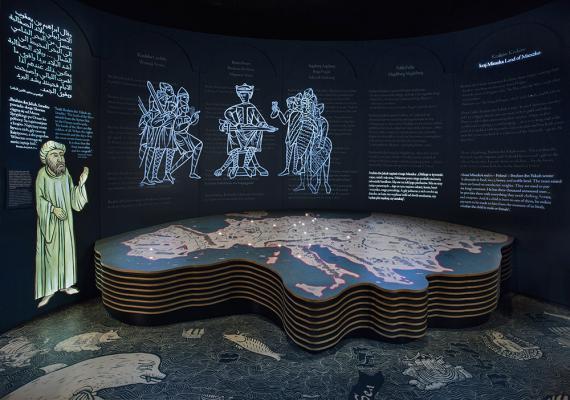 Галерея «Первые встречи» Основной экспозиции Музея истории польских евреев, Фото Магда Старовейская