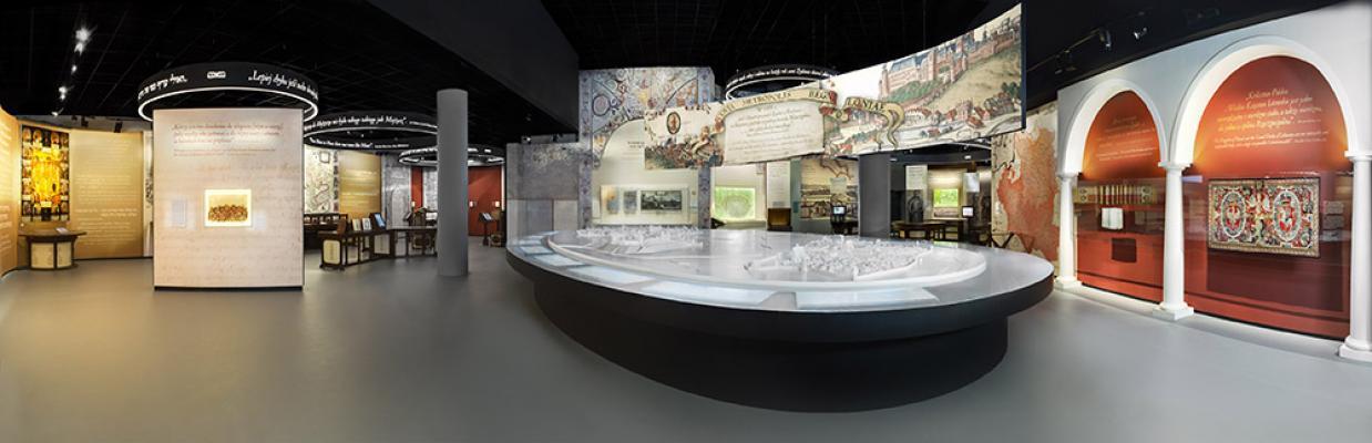 Галерея «Paradisus Judaeorum» Основной экспозиции Музея истории польских евреев, Фото Магда Старовейская