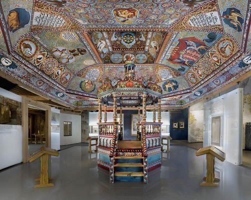 Галерея «Местечко» Основной экспозиции Музея истории польских евреев, Фото Магда Старовейская