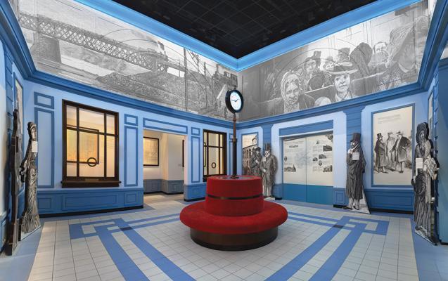 Галерея «Вызовы современности» Основной экспозиции Музея истории польских евреев, Фото Магда Старовейская