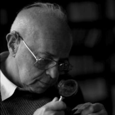 Станислав Лем, фото сделано в Кракове в 1997 году, автор фото - Эльжбета Лемпп
