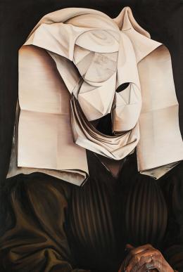 Ewa Juszkiewicz, bez tytułu, według Rogiera van der Weydena, olej na płótnie, 40 x 95 cm, 2012, fot. dzięki uprzejmości artystki i lokalu_30