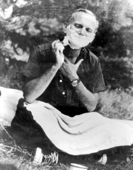 Кароль Войтыла во время похода в Татры, 1958. Фото: Forum