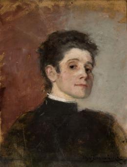 """Olga Boznańska, """"Autoportret"""", 1896,wł. Muzeum Narodowe w Warszawie, fot. Wilczyński Krzysztof"""