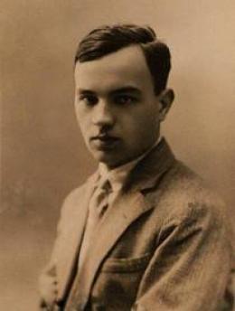 Józef Czechowicz (ok. 1925 roku), fot. archiwum Muzeum Literackiego im. J. Czechowicza
