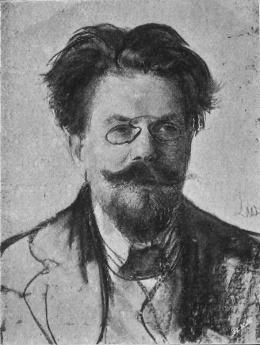 Portrait of Władysław Stanisław Reymont by Leon Wyczółkowski, photo: CC