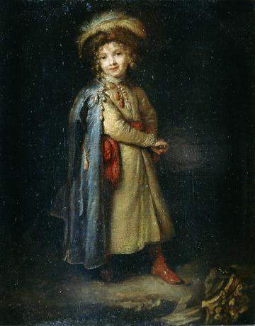 Каспар Нетшер, «Мальчик в польском костюме»,1668–1672, масло, дубовая доска, фото: Краковский национальный музей