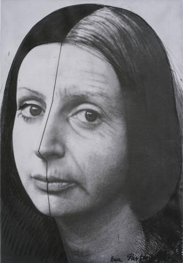 """Ewa Partum, """"Zmiana"""", 1979, fot. dzięki uprzejmości Muzeum Sztuki w Łodzi"""