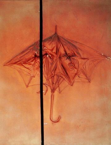 Tadeusz Kantor, Multipart, 1970, parasol, fot. Adam Golec / AG