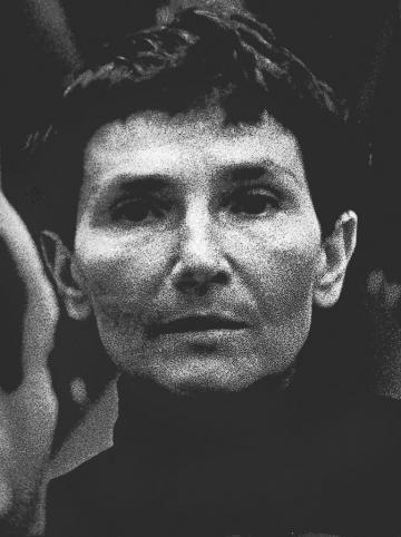 Maria Jarema, 1957, photo: Tadeusz Rolke / AG