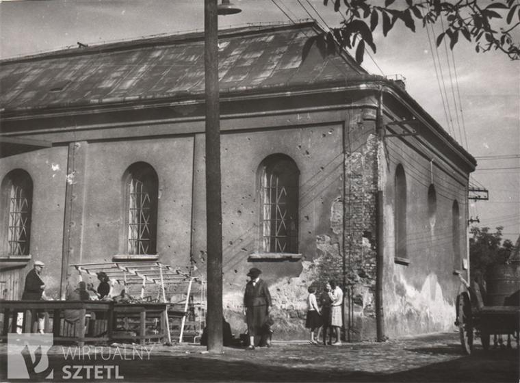 Synagogue in Dębica, Krakowska 3 Street, photo: Jerzy Żurawski / source: www. sztetl.org.pl