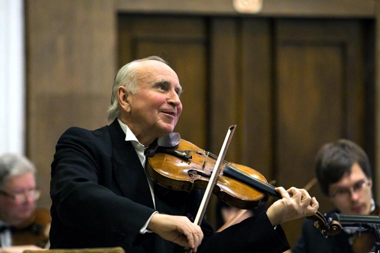 Krzysztof Jakowicz, 2013, Witold Lutosławski Chamber Philharmonic during the inaugurational concert of the Year of Witold Lutosławski, photo: Marek Maliszewski